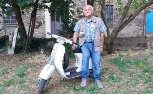 Stolen Vespa 50 Special recovered in Italy 41 years later
