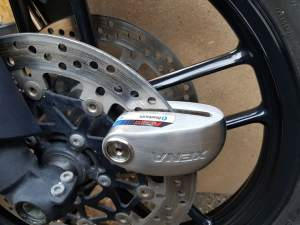 Xena Bluetooth Alarmed Disc Lock
