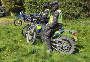 Zero FXS Police Bike