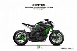 Zontes 800cc triple