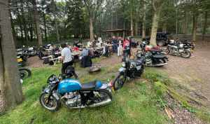 Royal Enfield Riders Club cookout One Ride 2021