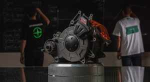 Energica EMCE electric motor that is liquid-cooled