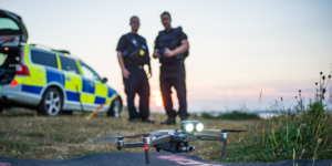 Police drones in the uk