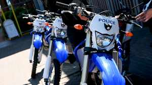 Northants Police Yamaha WR450F rural crime