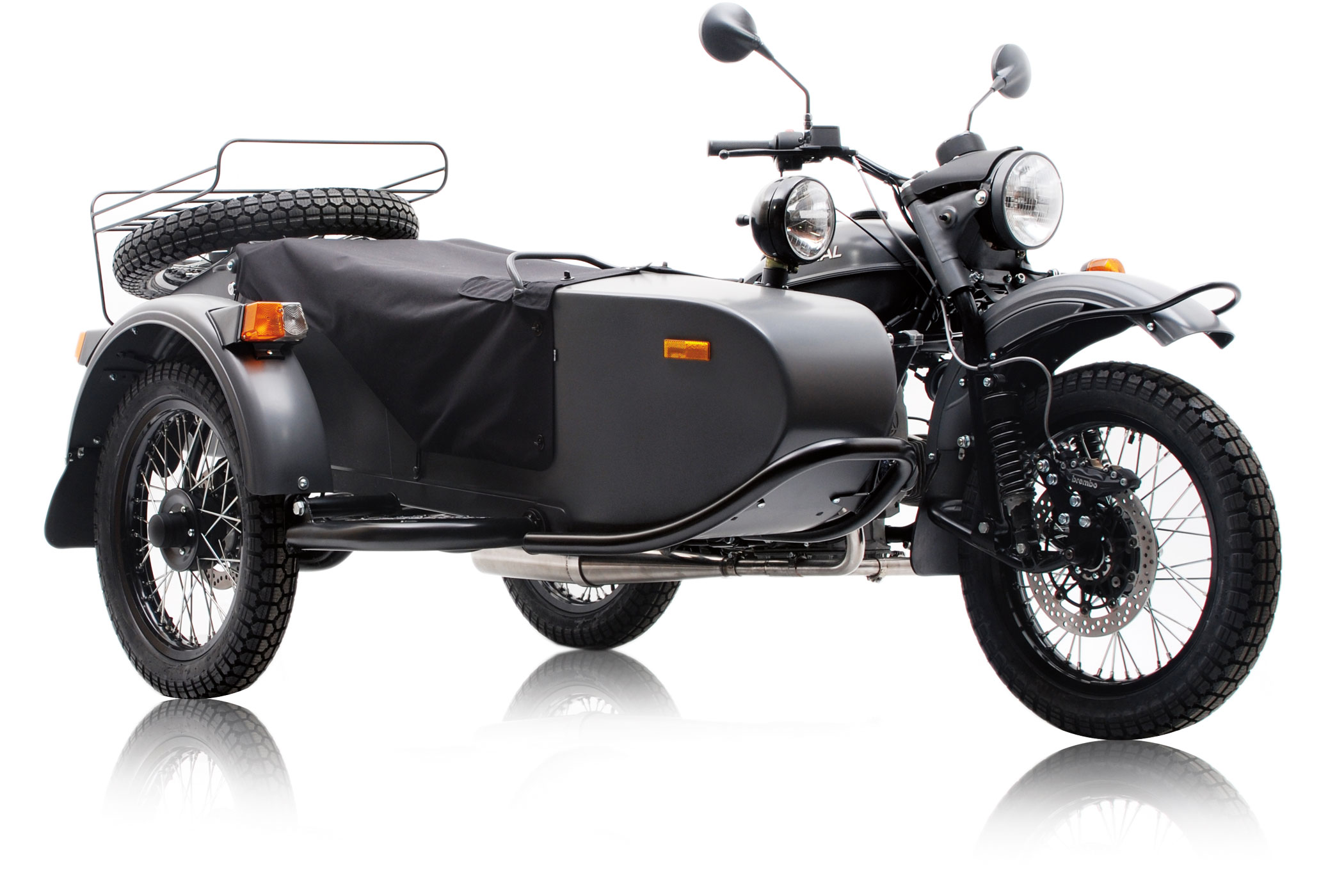 All-wheel drive motorcycles. Motorcycle Ural all-wheel drive