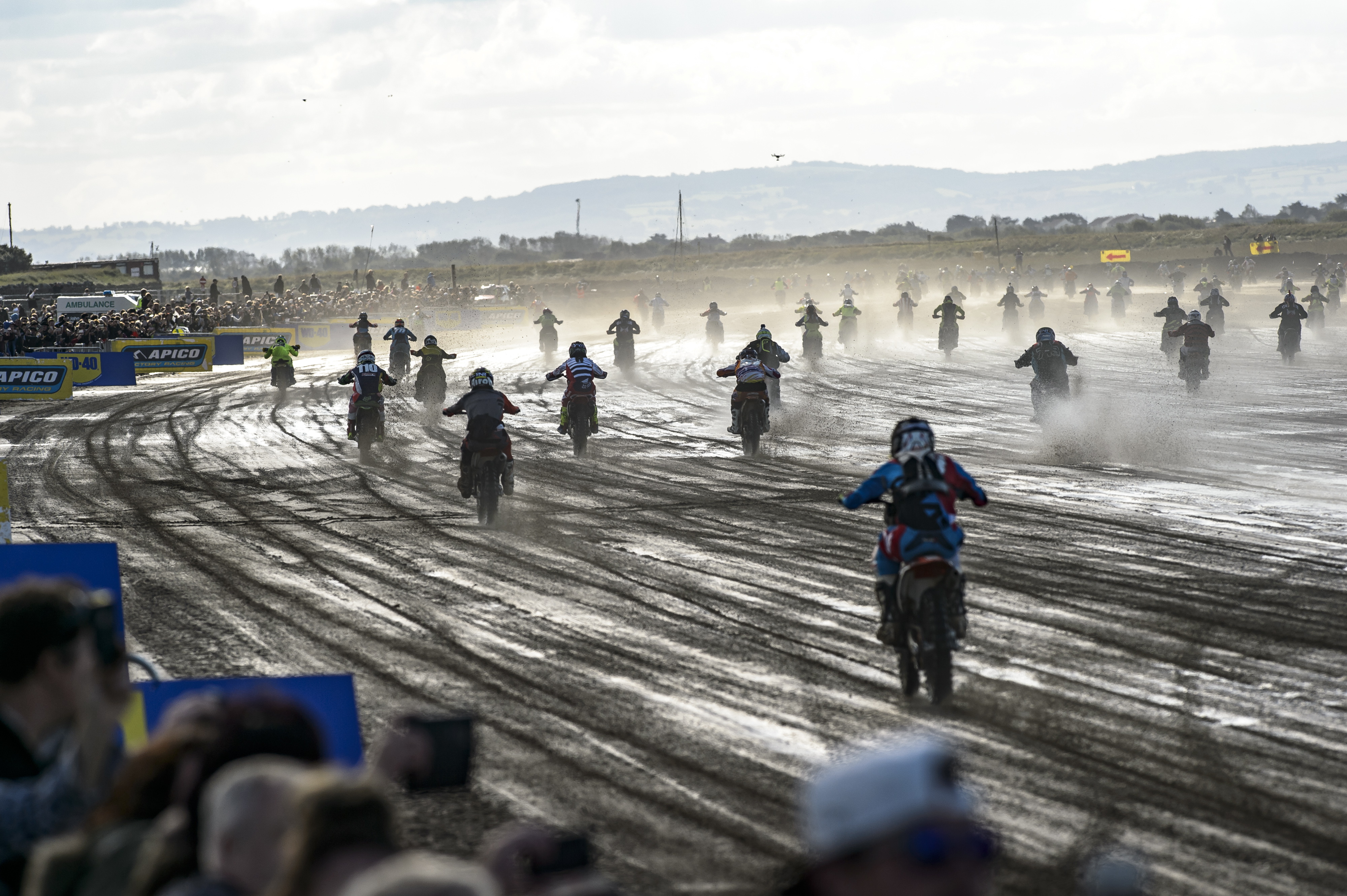Weston Beach Race competitors re-live the action